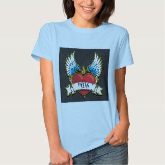 wing'd freak tee shirt