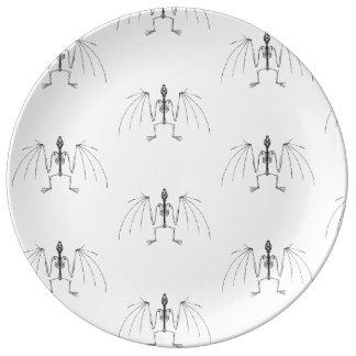 Winged 2 Skeleton Plate