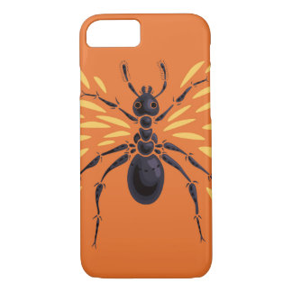 Winged Ant Fiery Orange iPhone 8/7 Case