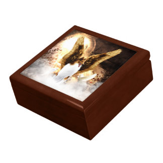 Winged Collie Angel in Dog's Heaven Gift Box