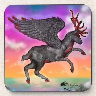 Winged Deer Coaster