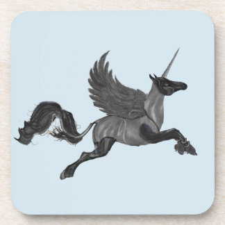 Winged Deer Unicorn Coaster