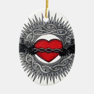 Winged Desire by TEO Ceramic Ornament