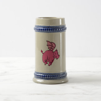 Winged Dragon Beer Stein