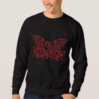 Winged Dragon Embroidered Sweatshirt
