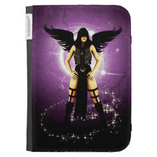 Winged Gothic Art Kindle Case 3rd Gen