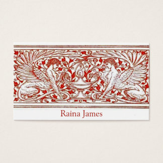 Winged Griffin Woman Business Card