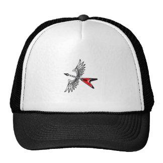 WINGED GUITAR TRUCKER HAT