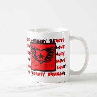Winged Heart Graffiti mug