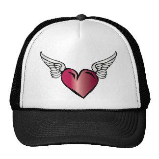 Winged Heart - Love Romance Wings Trucker Hat