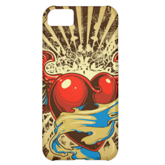 Winged heart tattoo iPhone 5C cover