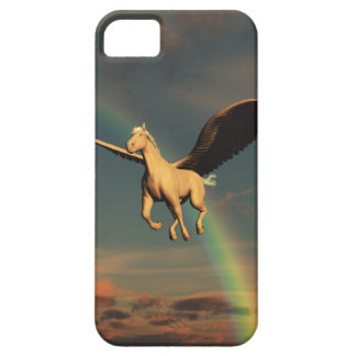 Winged horse and rainbow case for the iPhone 5