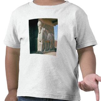 Winged human-headed bull, Neo-Assyrian Period T-shirts