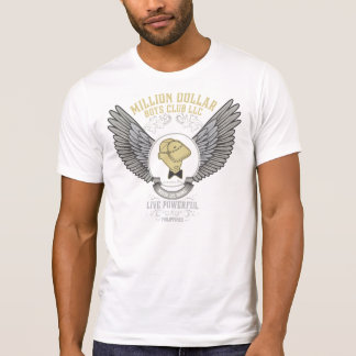 Winged Million Dollar Boys Club LLC Logo T-Shirt