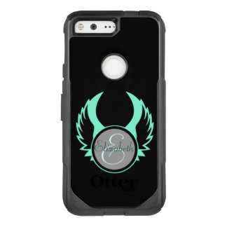 Winged Monogram OtterBox Commuter Google Pixel Case