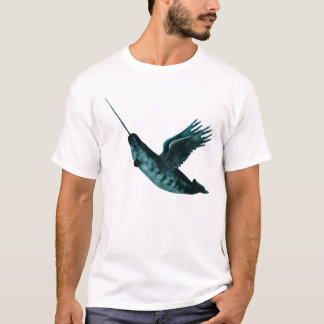 Winged Narwhale T-Shirt