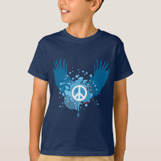 Winged Peace Sign T-Shirt