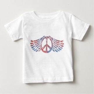 Winged Peace Symbol T Shirts