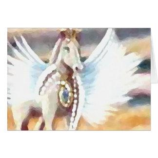Winged Pegasus CricketDiane Art & Design Greeting Card