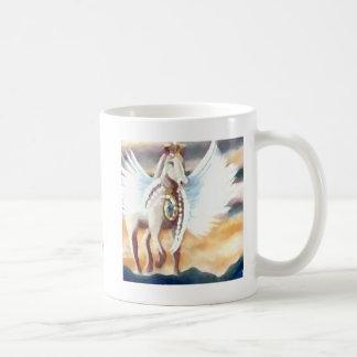 Winged Pegasus CricketDiane Art & Design Classic White Coffee Mug