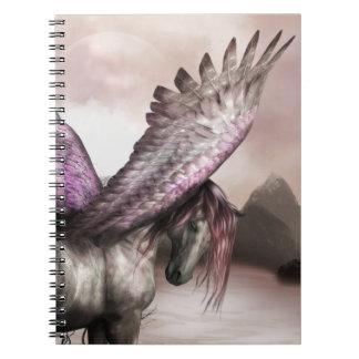 Winged Pegasus Notebook