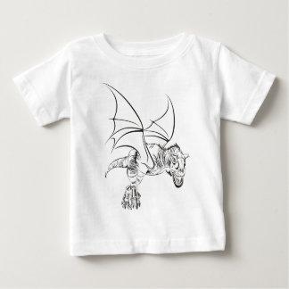 Winged Raptor / Tribal Baby T-Shirt