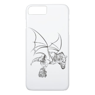 Winged Raptor / Tribal iPhone 8 Plus/7 Plus Case