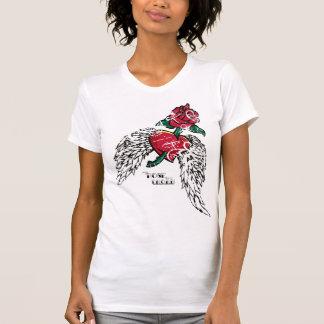 winged rose T-Shirt