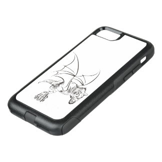 Winged RWS gates/Tribal OtterBox Commuter iPhone 8/7 Case