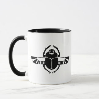 Winged Scarab Mug