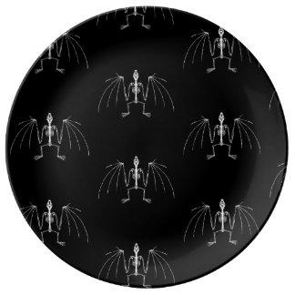 Winged Skeleton Plate