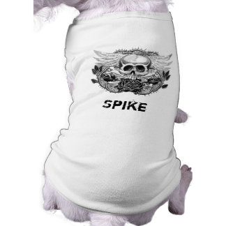 Winged Skull Dog Shirt