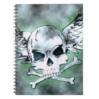 Winged Skull Notebook