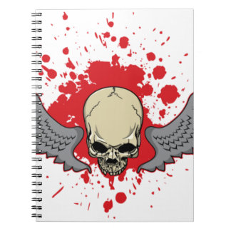 Winged-Skull Notebooks