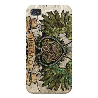 Winged Tattoo Celtic Knot Artistic Case Covers For iPhone 4