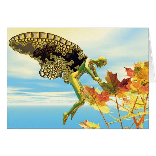 Winged Things - Autumn Splendour Card