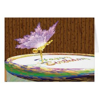 "Winged Things - ""Just a taste..."" Card"