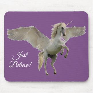 Winged Unicorn Mouse Pad