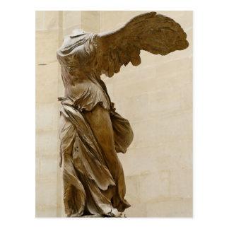 Winged Victory of Samothrace Postcard