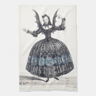 Winged Woman Kitchen Towel