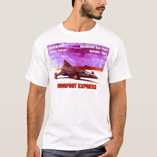 Wingfoot Express Rocket Car T-Shirt
