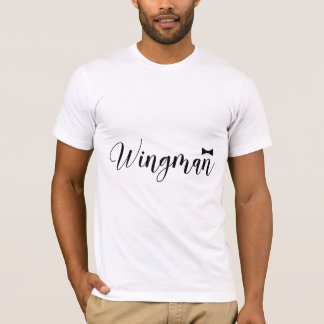 Wingman Bowtie Wedding Bachelor T-Shirt