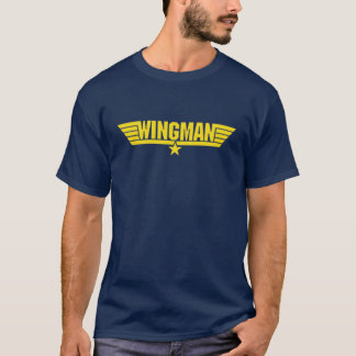 wingman cool airforce esque shirt