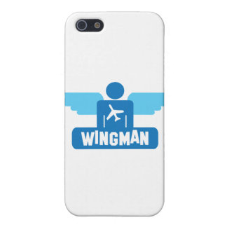 wingman pilot design iPhone 5/5S cases