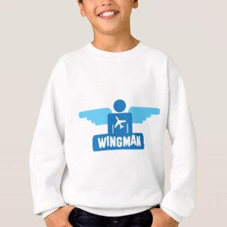 wingman pilot design sweatshirt