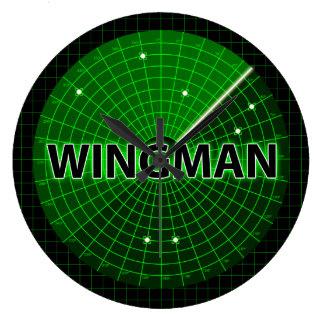 Wingman Radar Wall Clock
