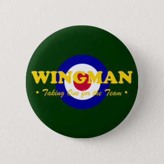 Wingman (RAF) 2 Inch Round Button