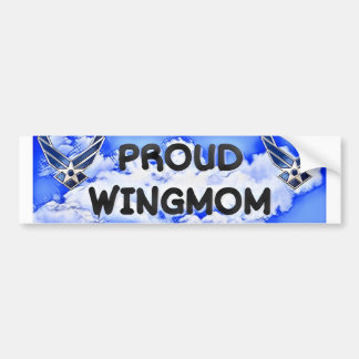 WINGMOM bumper sticker