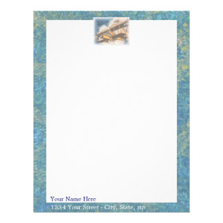 Wings Aloft Father's Day Personalized Letterhead