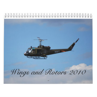 wings and rotors 2010 calendar